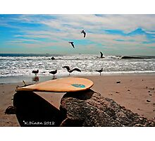 Perfect Beach Day! Photographic Print