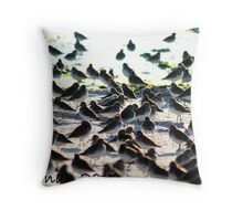 Migration in Lido Throw Pillow