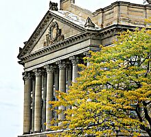 """""""Luzerne County Courthouse In Fall"""" by Gail Jones"""