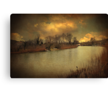 Lost in life Canvas Print