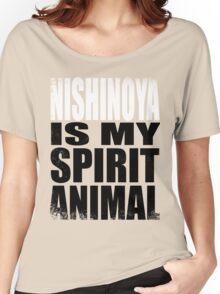 Nishinoya is my Spirit Animal Women's Relaxed Fit T-Shirt