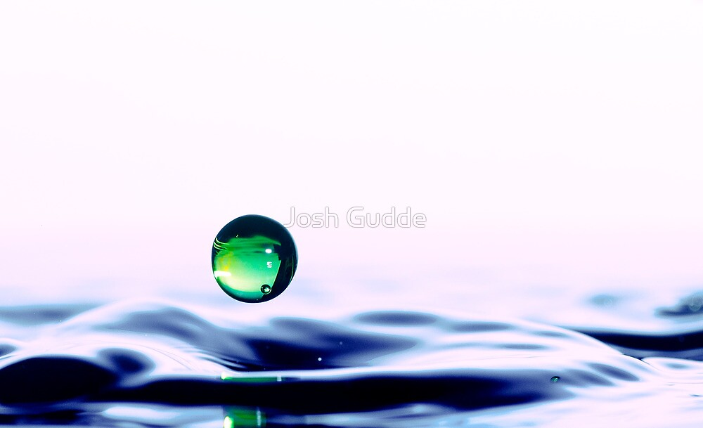 Just another water drop photo.... by Josh Gudde
