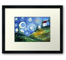 Look to the Stars Framed Print