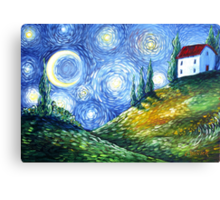 Look to the Stars Canvas Print