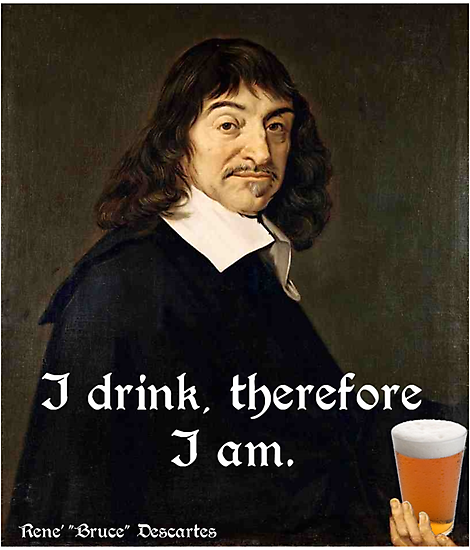 I Drink Therefore I Am Latin 113