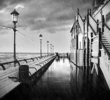 A Rainy day at Eastbourne  by Mark Cass