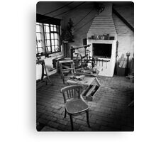 The Old Locksmith's Shop Canvas Print