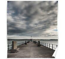 Stone Pier Poster
