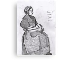 Breton Woman~after roderic o connor Canvas Print