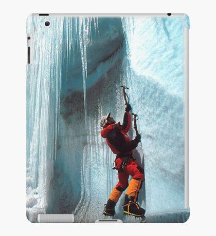 Stunning Ice Climber iPad Case iPad Case/Skin