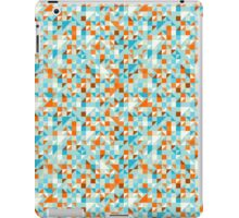 Colorful Abstract Retro Seamless Geometric Shapes Pattern iPad Case/Skin