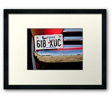Classic Chrome Framed Print