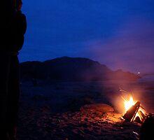 Fire on a Beach by gyp1gyp1y