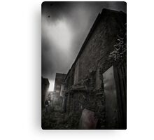 A dark place Canvas Print