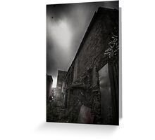 A dark place Greeting Card