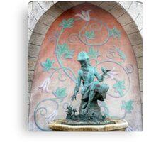 Cinderella Fountain Disneyland Paris Metal Print