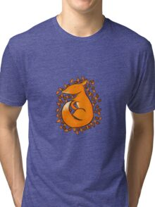 Sleeping Fox Tri-blend T-Shirt