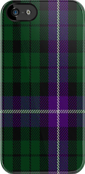 00893 Wilson's No. 97 Fashion Tartan Fabric Print Iphone Case by Detnecs2013