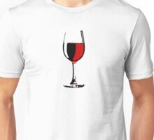 Glass of Wine Unisex T-Shirt