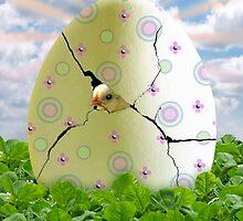 Easter Hatchling by Elizabeth Burton