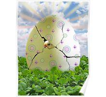 Easter Hatchling Poster
