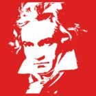 Ludwig van Beethoven pop art by artisu