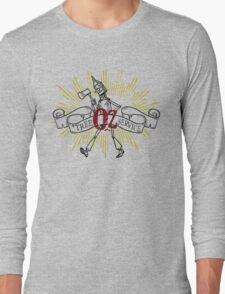 Wizard of Oz Inspired - Tin Man Oz Tree Service Long Sleeve T-Shirt