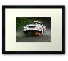 International Manx Rally  Framed Print