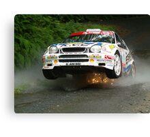 International Manx Rally  Canvas Print