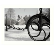 Well at the DeWint House Art Print