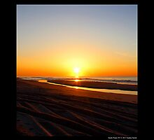 Fire Island National Seashore Sunrise - Smith Point, New York by © Sophie W. Smith