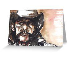 The Outlaw Lemmy Kilmister Greeting Card