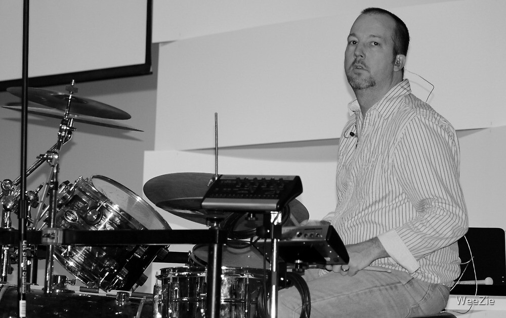 The Drummer by WeeZie