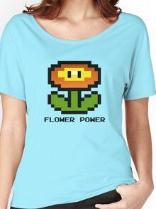 Nintendo 8-Bit Flower Power Women's Relaxed Fit T-Shirt