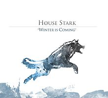 House Stark – Winter is Coming by MattBodz