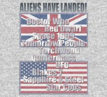 UK to USA - Aliens Have Landed by Coemlyn