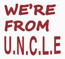 WE'RE FROM U.N.C.L.E. *as worn by Keith Moon by confusion