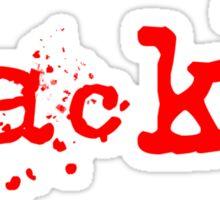 WACKO Sticker