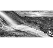 Water over granite, Mt. Buffalo Photographic Print