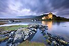 Eilean Donan Castle: Passing Showers by Angie Latham