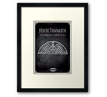 House of Thanatos Framed Print