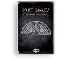 House of Thanatos Canvas Print