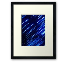 screen shock Framed Print