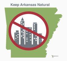Keep Arkansas Natural (green) One Piece - Short Sleeve