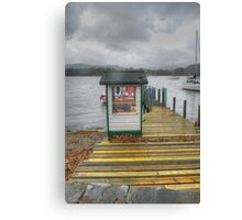 Pier Office Canvas Print