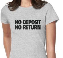 NO DEPOSIT NO RETURN - Alternate Womens Fitted T-Shirt
