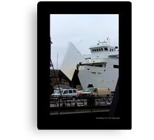 Park City Ferry - Port Jefferson, New York Canvas Print