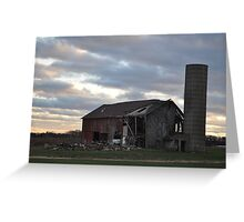 Barn- Northwest Indiana Greeting Card