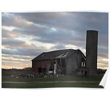 Barn- Northwest Indiana Poster