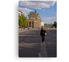 A Walk on The Wall Canvas Print